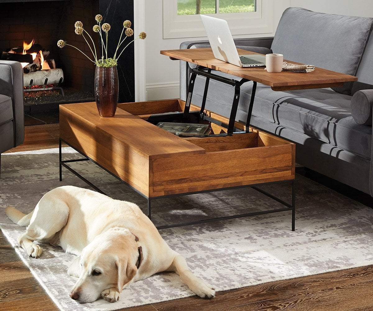 Keep Your Living Room Neat With Storage Coffee Tables