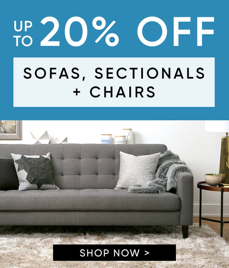 Up to 20% off Sofas, Sectionals, and Chairs-mobile