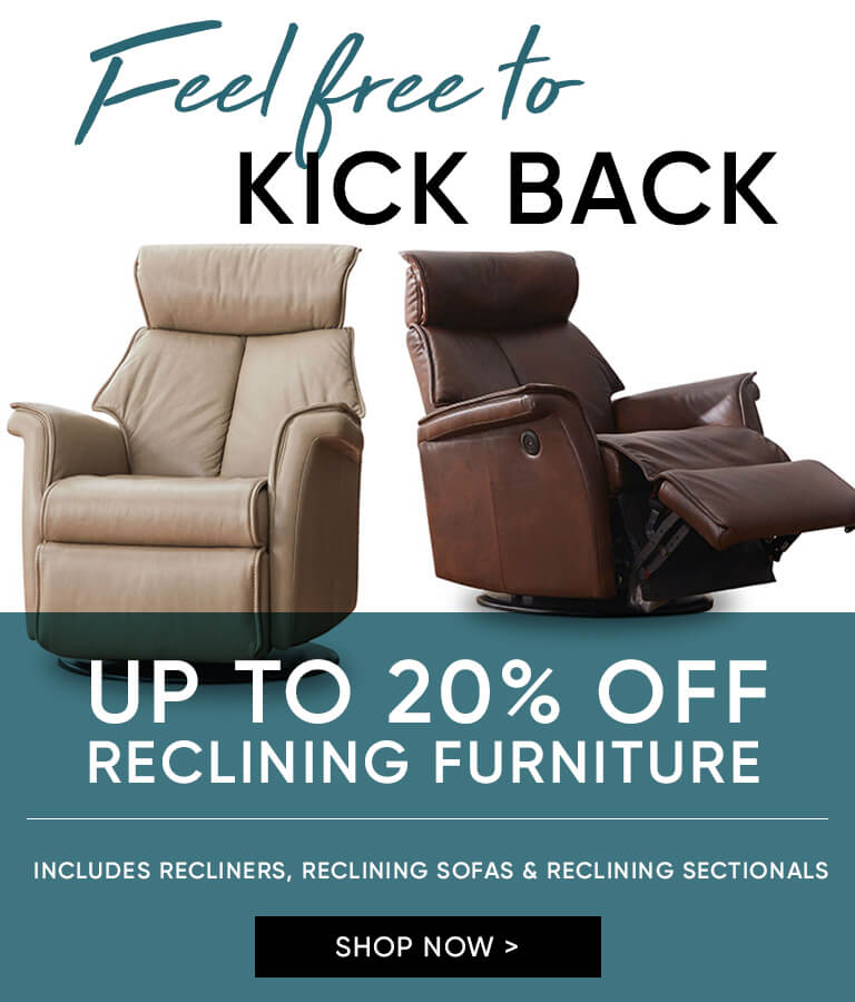Up to 20% off Reclining Furniture-mobile