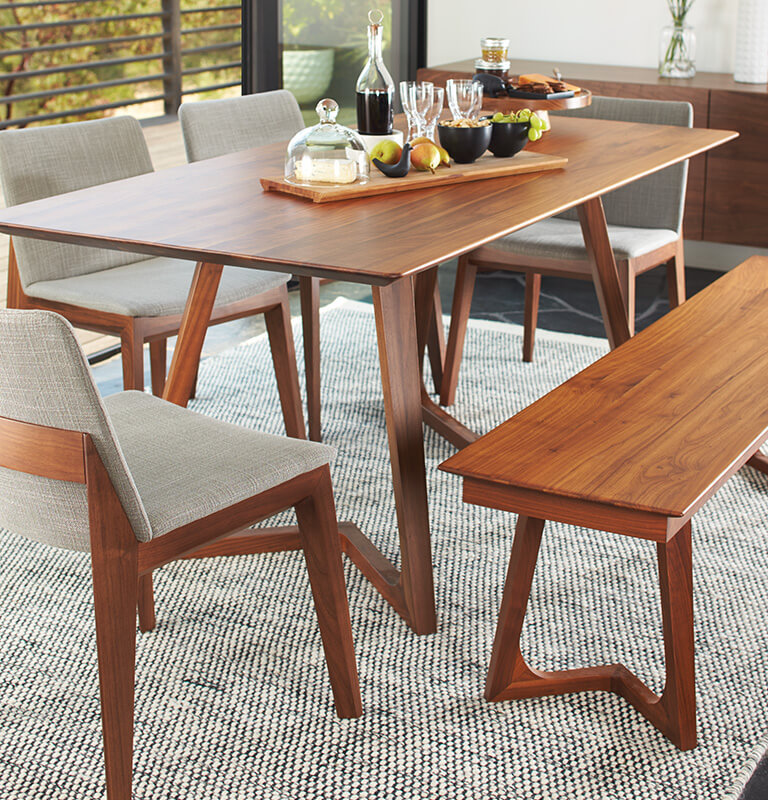 Kitchen Dining Room Furniture Scandinavian Designs Unique Modern Wood Dining Room Table