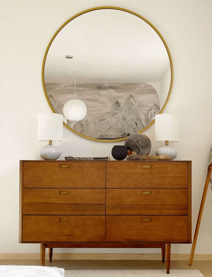 Janelle Mirror / Holfred Double Dresser front