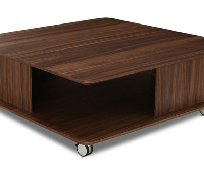Rorstad Square Coffee Table Walnut Veneer - Scandinavian Designs