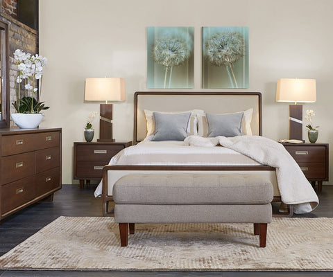 Bryant Bed Bark / Queen - Scandinavian Designs