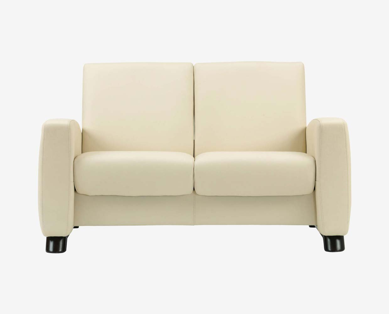 Stressless® Arion Low Back Loveseat - Scandinavian Designs