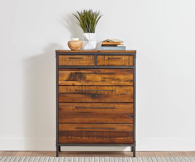 Insigna High Chest ANTIQUE NATURAL - Scandinavian Designs
