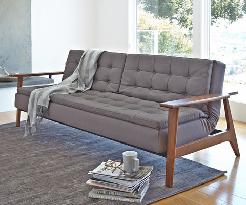 Tellima Convertible Sofa GREY 555 - Scandinavian Designs