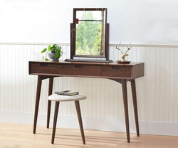 Juneau Vanity Table WALNUT - Scandinavian Designs