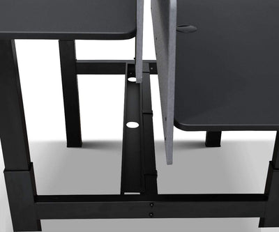 Double Sit Stand Desk - Scandinavian Designs