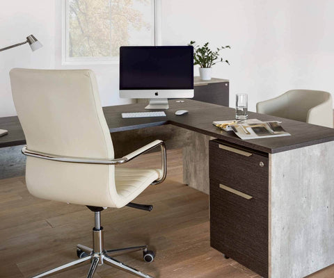 "Alva 63"" Desk - Scandinavian Designs"