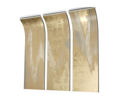 Shadow Colored Wall Art Gold - Scandinavian Designs