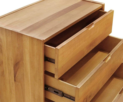 Bolig 3-Drawer Chest Natural Driftwood - Scandinavian Designs