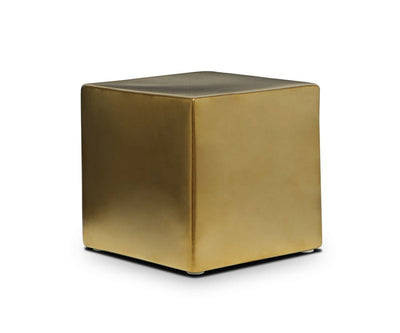 Cube Decor Stand Gold - Scandinavian Designs