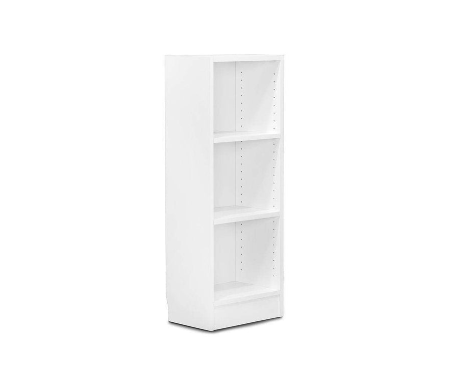 Stuen Narrow Low Bookcase - White