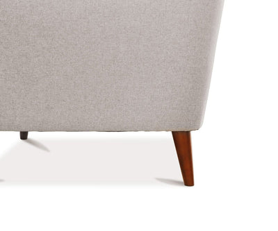 Dakota Chair Concrete Grey - Scandinavian Designs