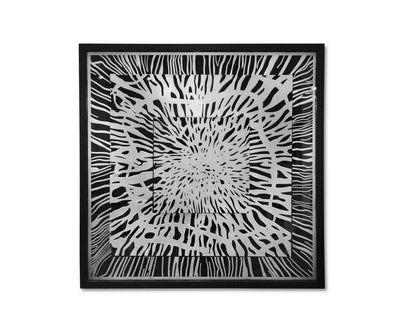 Dynamic Impact Art Silver - Scandinavian Designs