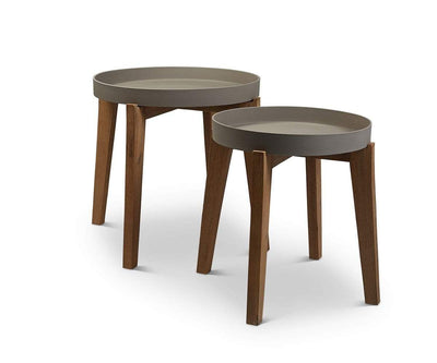 Matera Round Accent Table - Scandinavian Designs
