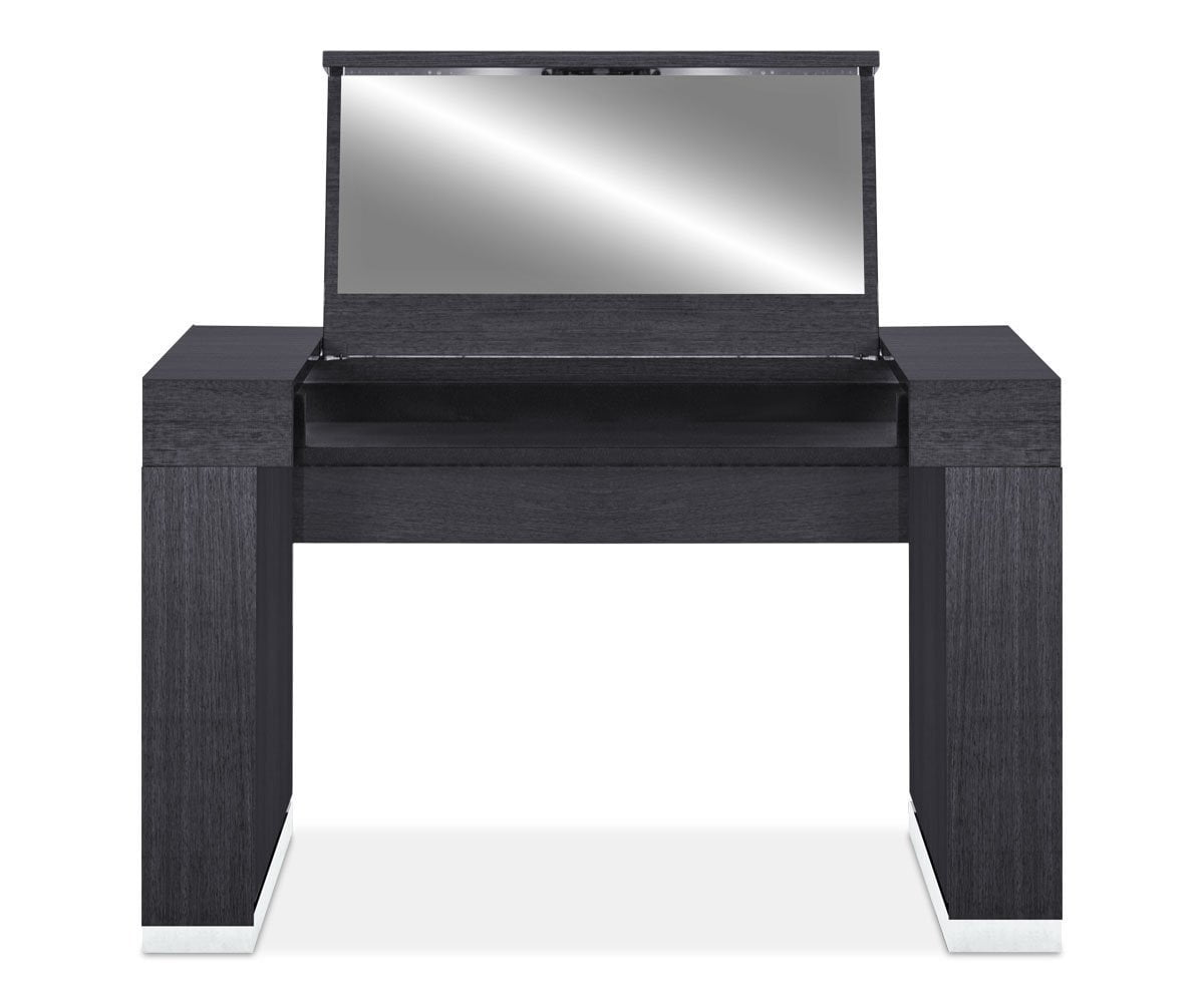 Mondiana Vanity High Gloss Grey - Scandinavian Designs