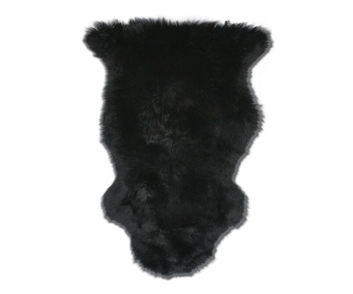 Sheepskin Throw - Black Sheepskin Black - Scandinavian Designs