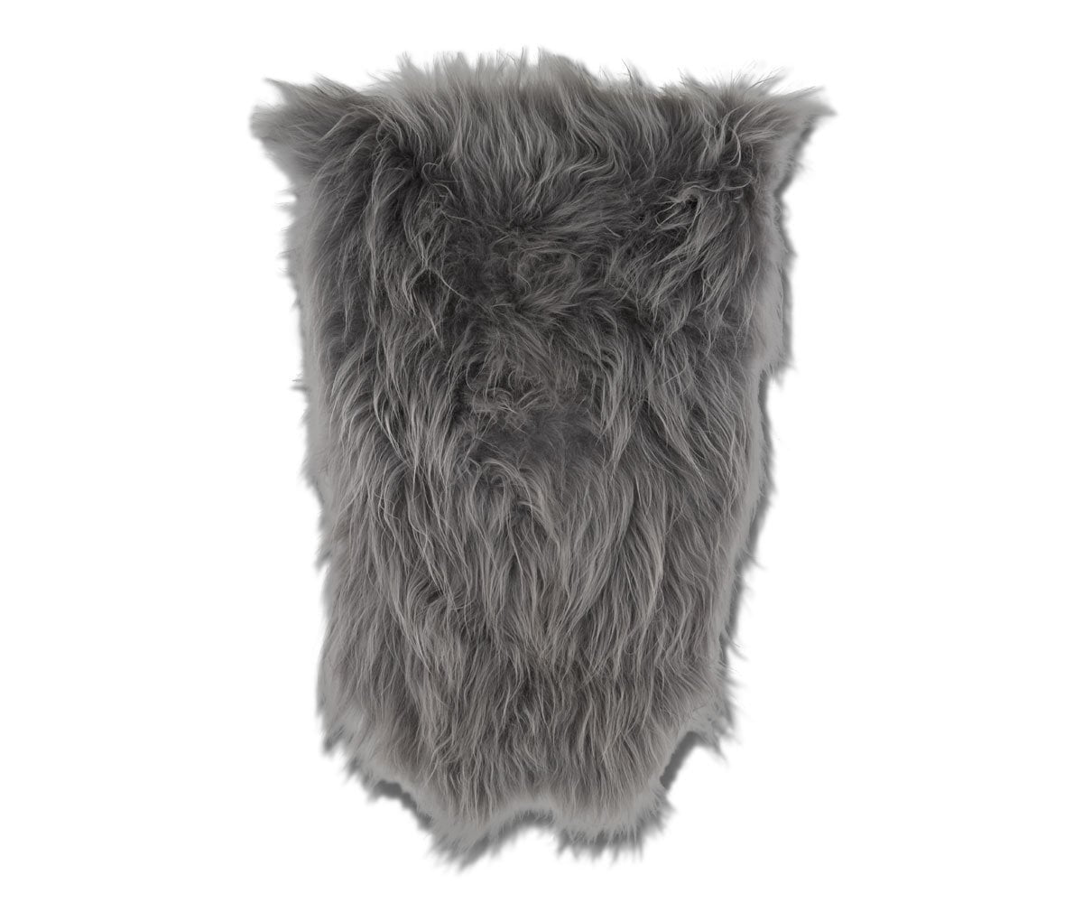 Sheepskin Throw - Grey Sheepskin Grey - Scandinavian Designs