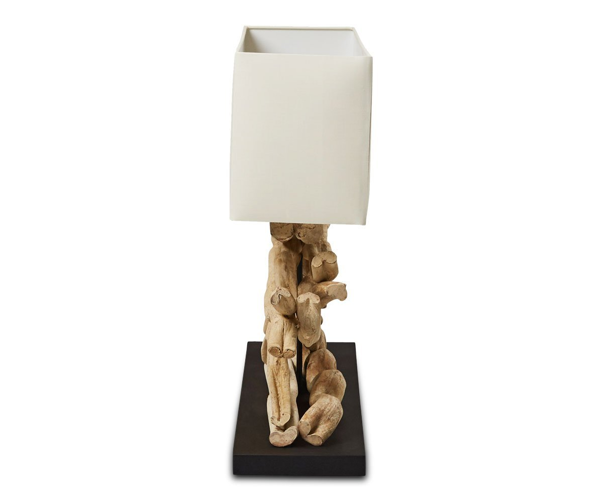Mandal Lamp with Off-White Shade - Scandinavian Designs