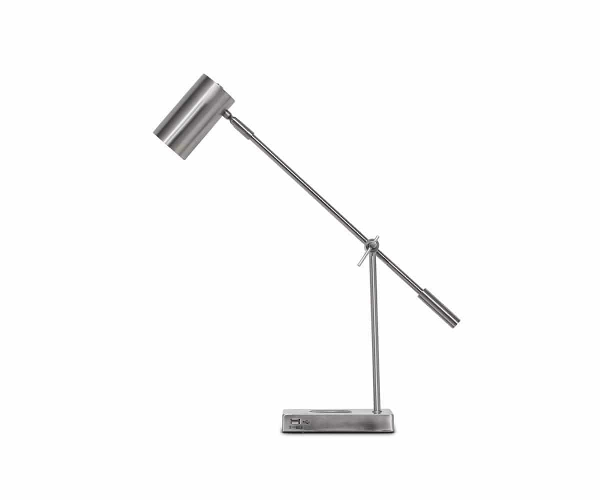 Collette Desk Lamp with USB Port