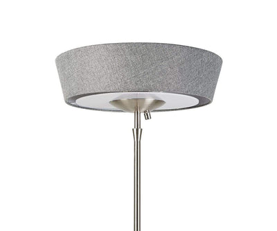 Harper Floor Lamp Steel - Scandinavian Designs