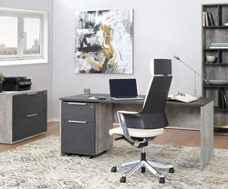 "Alva 71"" Desk ALVA GREY - Scandinavian Designs"
