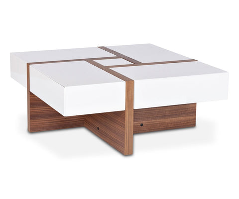 Prindy 4-Drawer Coffee Table - Scandinavian Designs