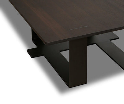 Agder Coffee Table Smoked Oak Veneer - Scandinavian Designs