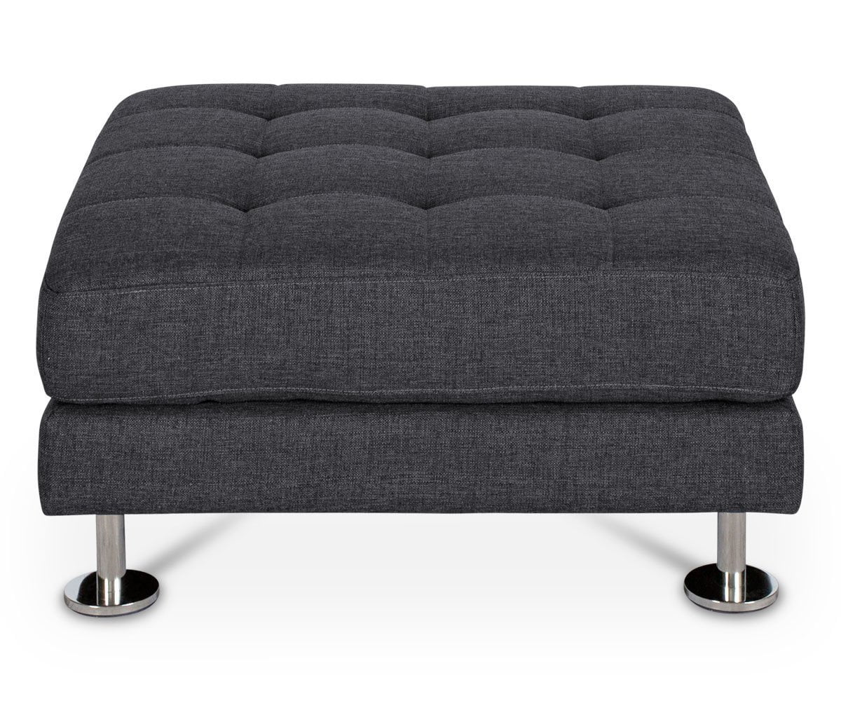 Cepella Ottoman GREY DORMA-96 - Scandinavian Designs