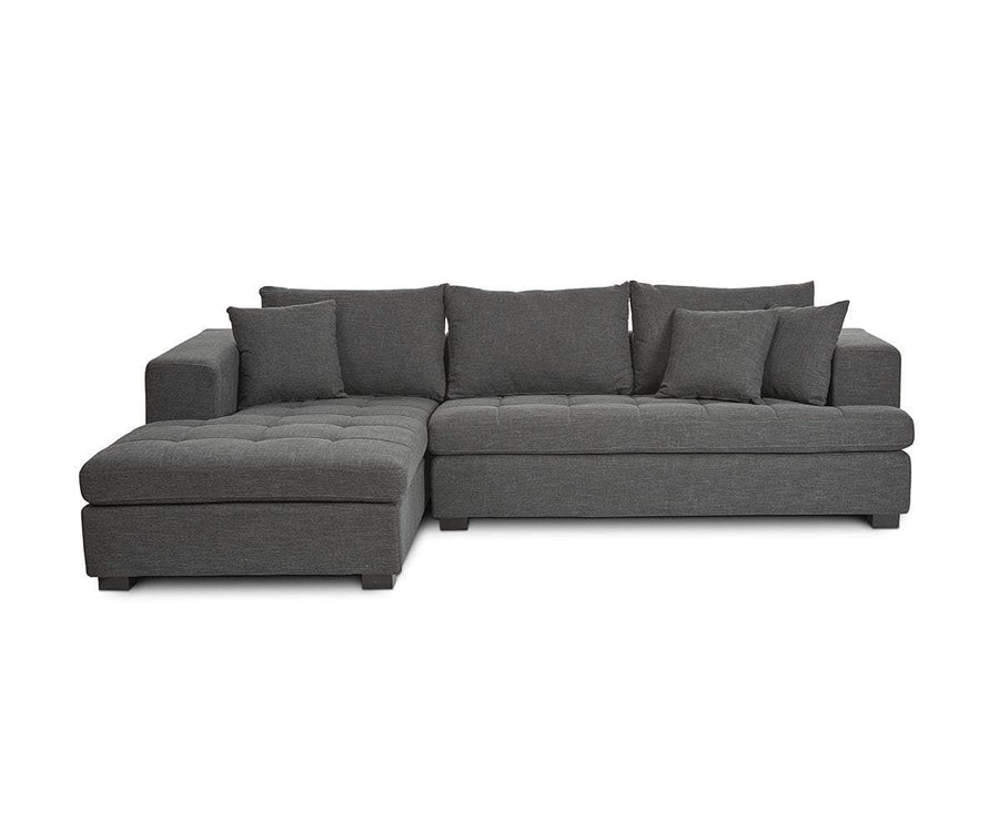 Mirak Right Chaise Seated Sectional