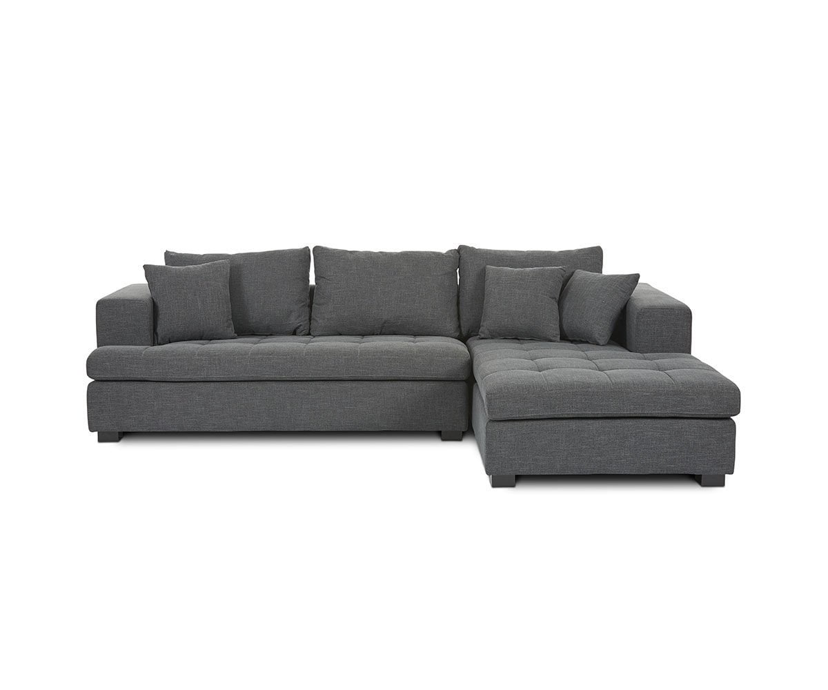 Mirak Left Chaise Seated Sectional - Scandinavian Designs