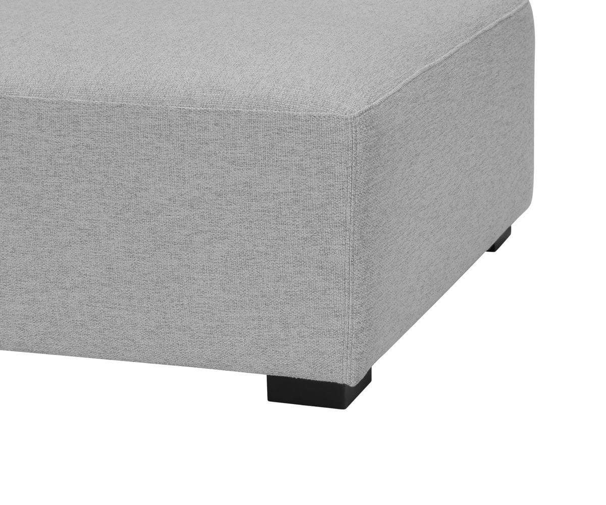 Reyes Ottoman Light Grey VL9025-3 - Scandinavian Designs