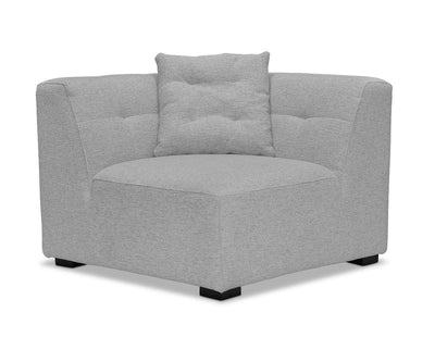 Reyes Modular Sofa Light Grey VL9025-3 / Corner Chair - Scandinavian Designs