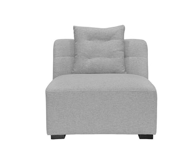 Reyes Modular Sofa Light Grey VL9025-3 / Armless Chair - Scandinavian Designs