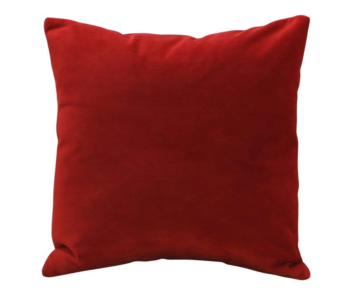"Joei Throw Pillow - Red Red / 22"" x 22"" - Scandinavian Designs"