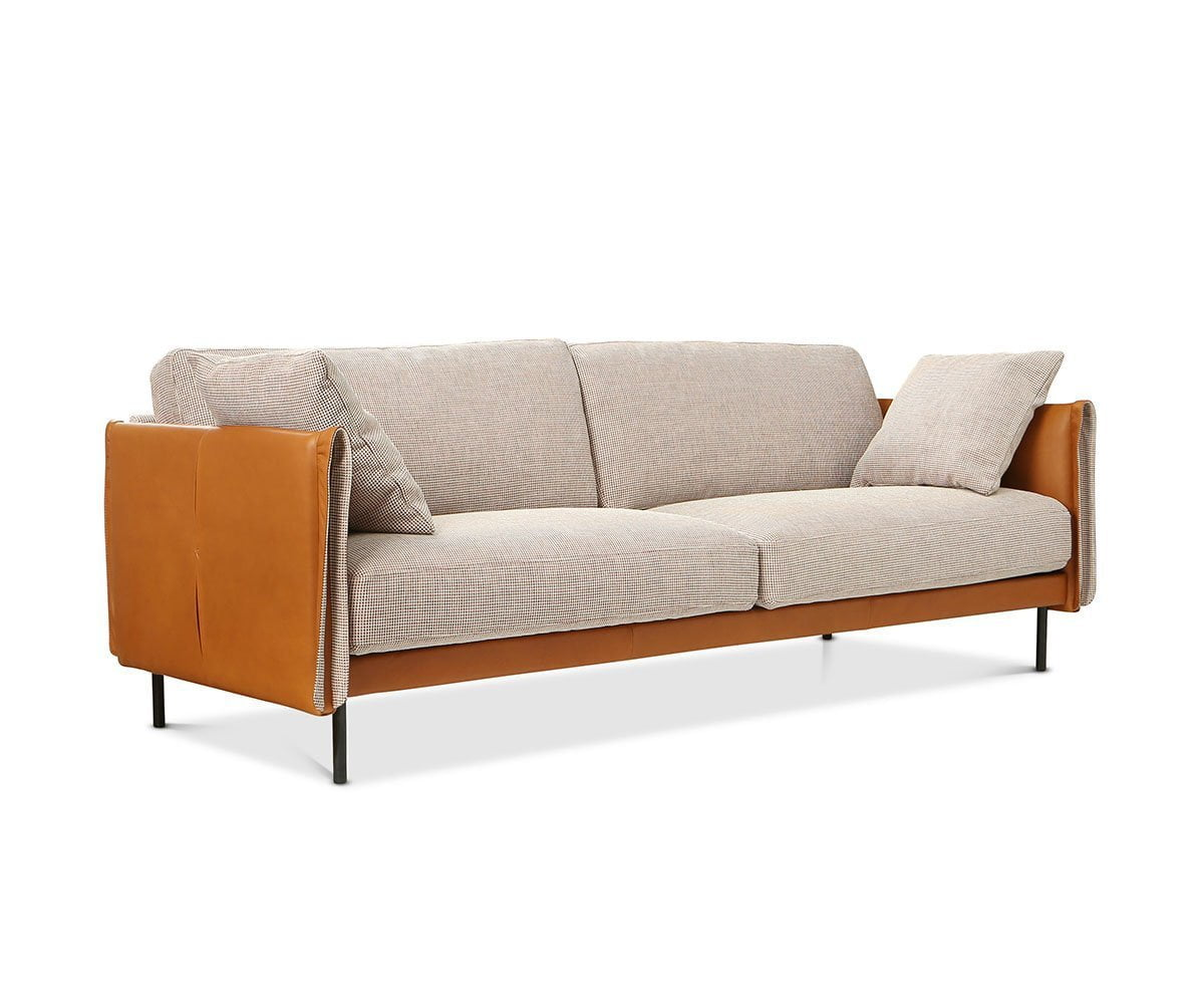 Glenn Sofa Brick F30 S-15 - Scandinavian Designs