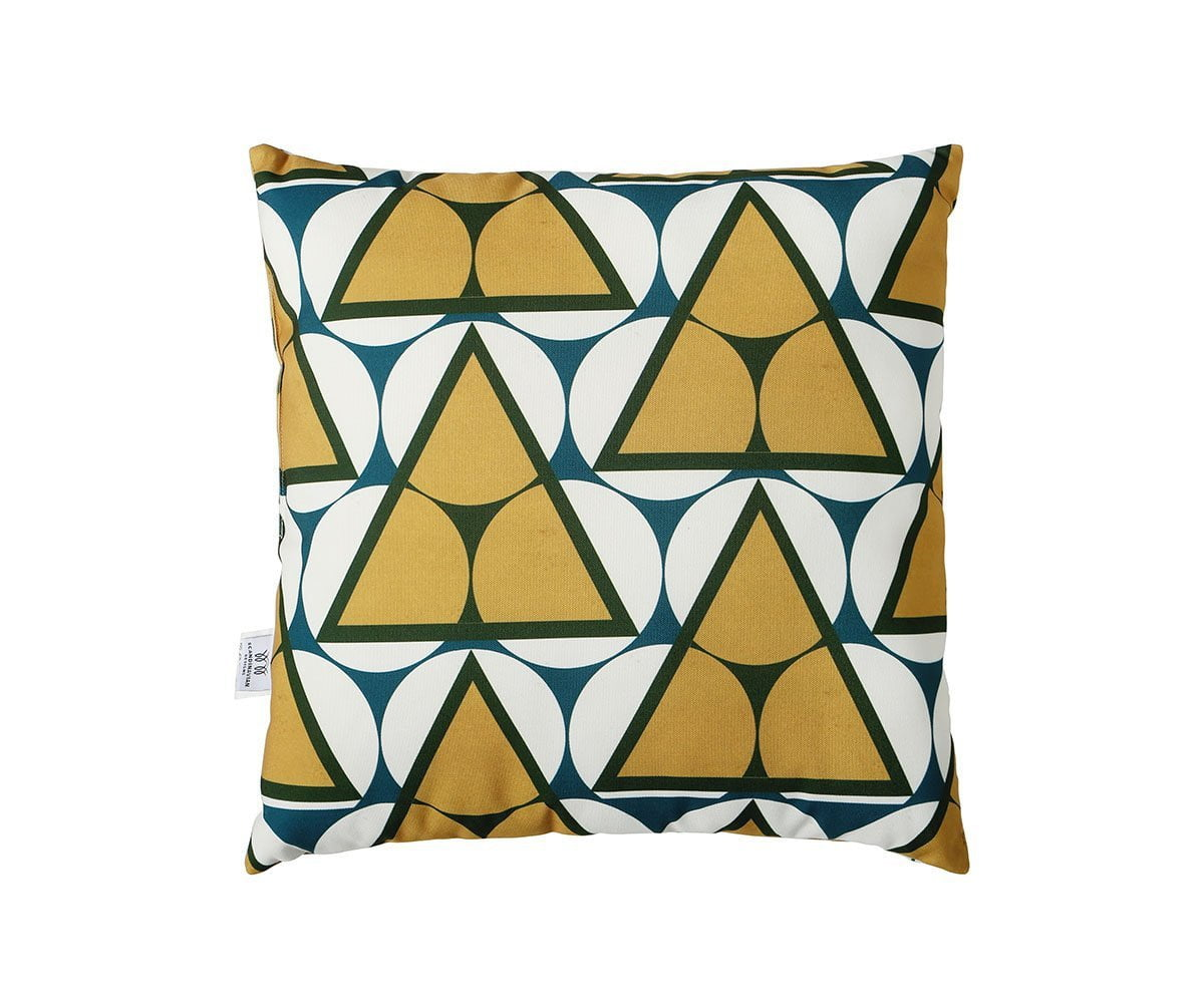 Osuva Outdoor Pillow Yellow/Multi - Scandinavian Designs