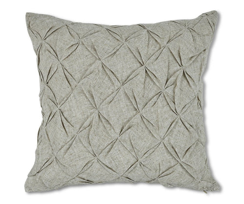 Elegant diamond pattern tufted texture pillow