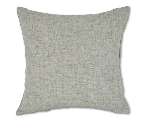 Light beige linen pintuck texture pillow