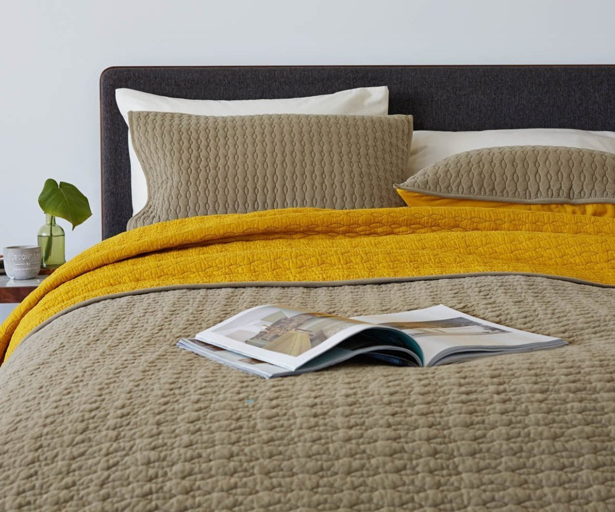 Alta Standard Sham - Yellow - Scandinavian Designs