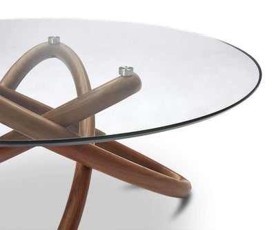Oleander Coffee Table Walnut - Scandinavian Designs