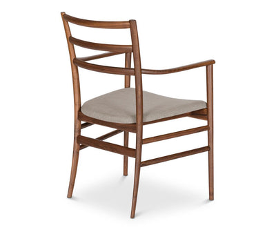 Lofia Dining Chair WALNUT - Scandinavian Designs