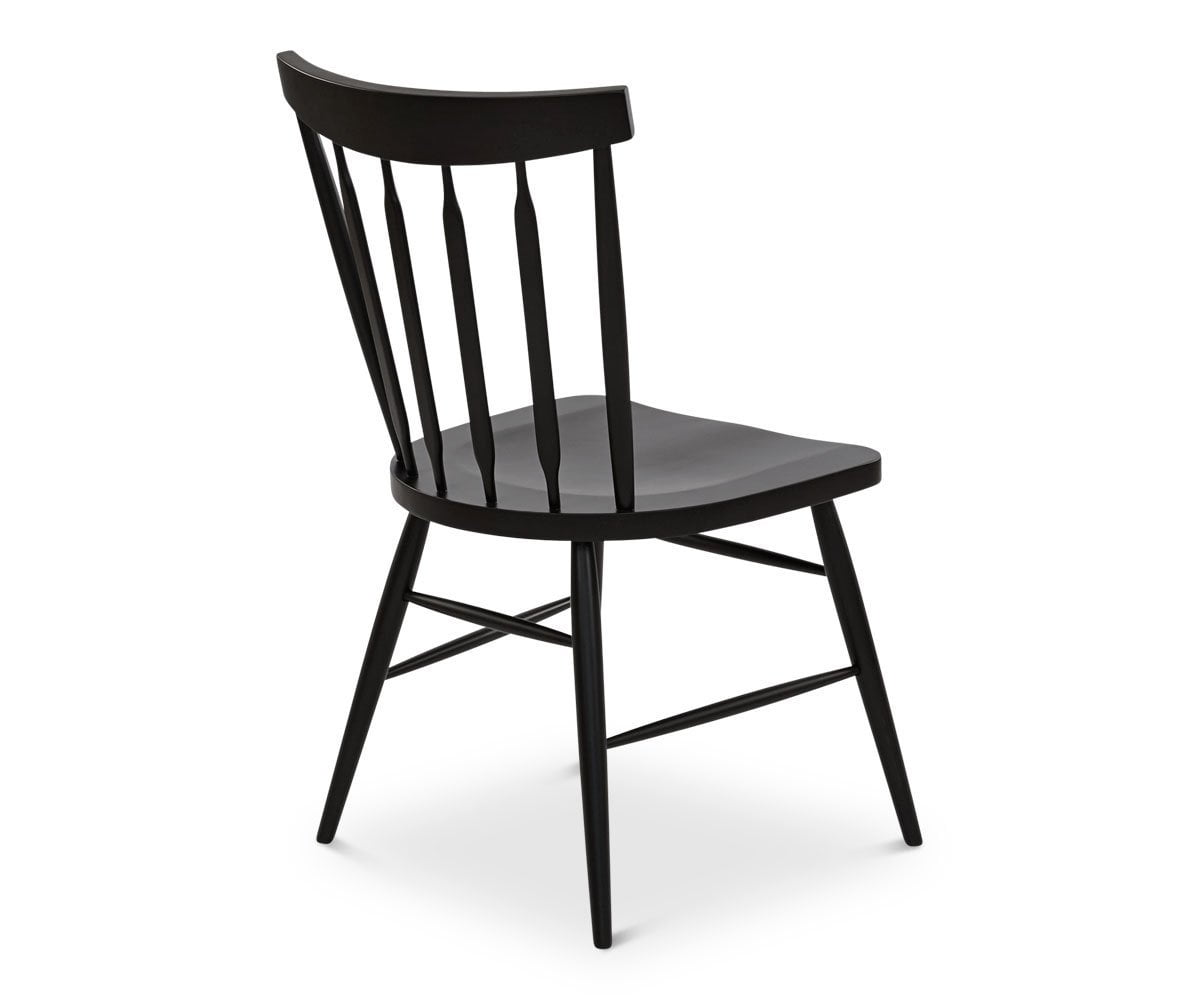 Paige Dining Chair - Black - Scandinavian Designs