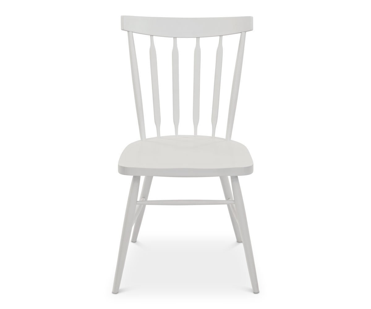 Paige Dining Chair - White - Scandinavian Designs