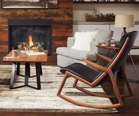Stille Rocking Chair Black - Scandinavian Designs
