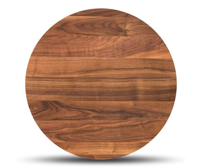 Cress End Table Round WALNUT - Scandinavian Designs