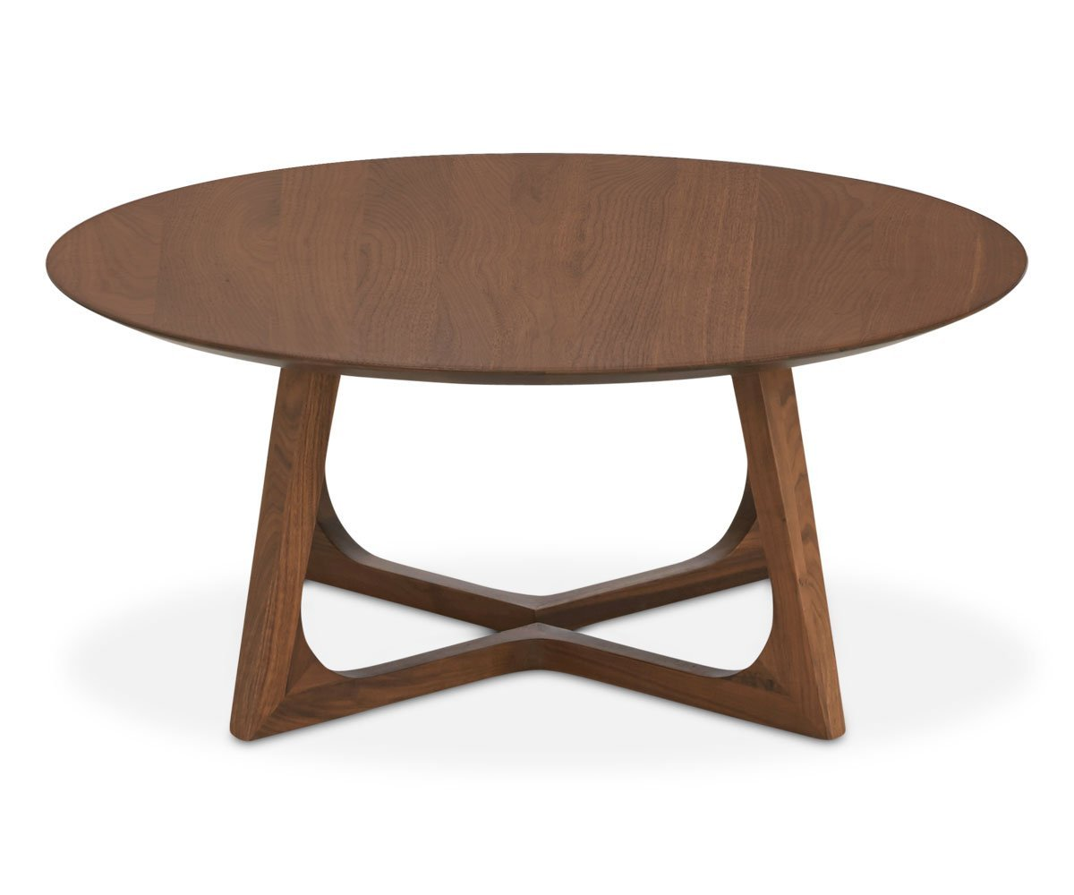 Cress Round Coffee Table - Scandinavian Designs