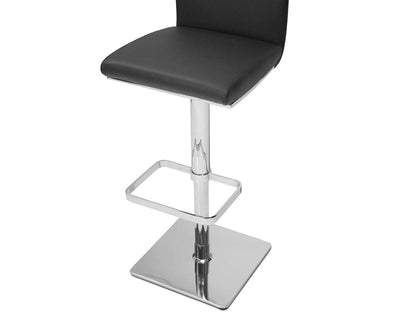 Alma Adjustable Barstool BLACK - Scandinavian Designs