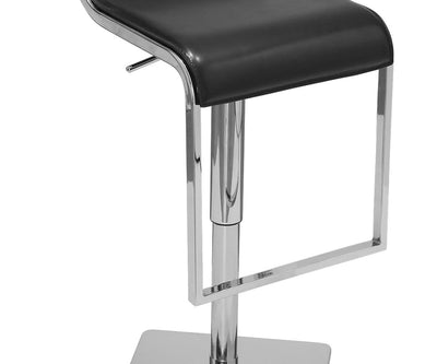 Meloy Adjustable Barstool Black - Scandinavian Designs
